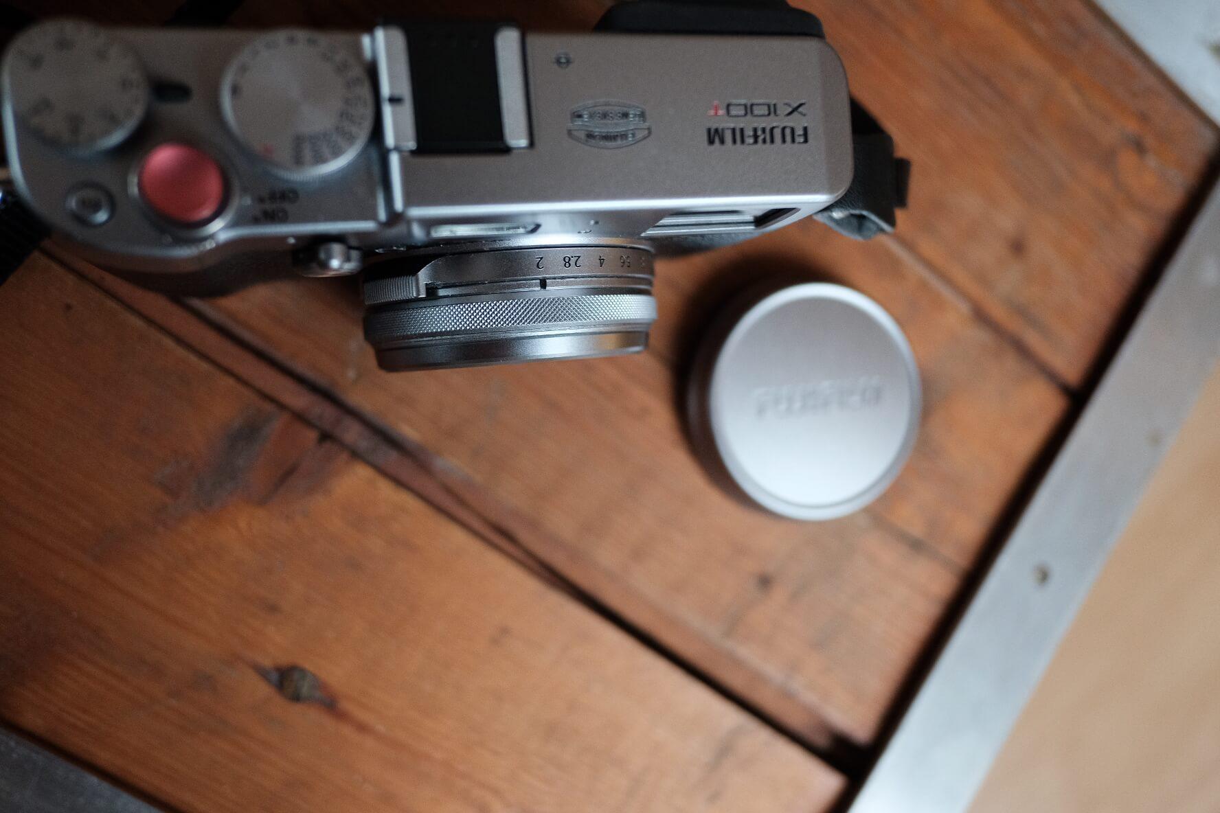 Fuji100T, Kamera, Kameraansicht