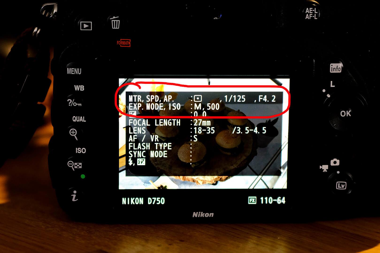Kamera Display OlKe-Art Fotografie, Display Nikon D750